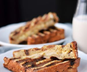 Pear and Gouda French Toast Sandwich
