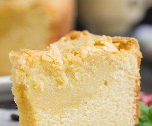 Amazing Eggnog Pound Cake