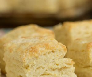 Southern Cream Cheese Biscuits