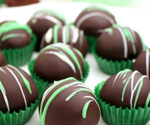 Mint Oreo Chocolate Truffles