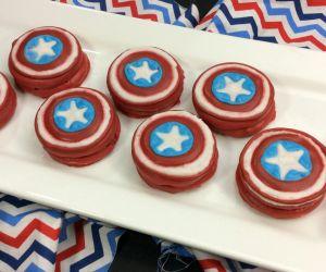Captain America Oreos