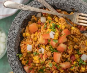 Easy Cheesy Tex Mex Rice