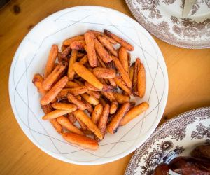 AIP Carrot Fries Recipe with Coconut and Cinnamon [Paleo, Nut-Free]