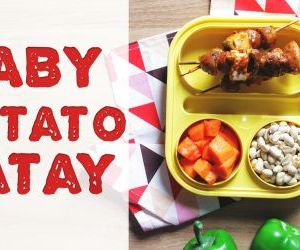 Easy steps to make baby potato satay snacks recipe