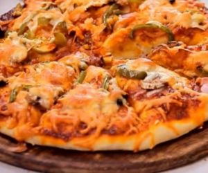 Homemade Cheese Pizza