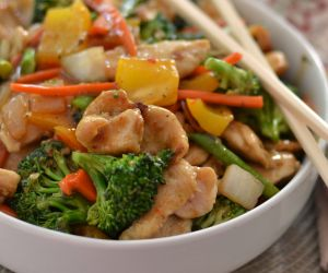 Easy Basic Chicken Stir Fry