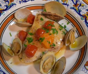 Italian-Style Sous Vide Swordfish