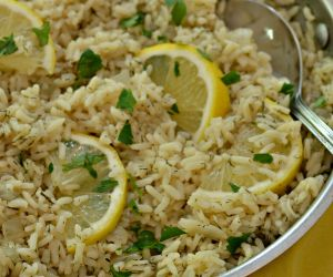 Lemon Rice A Lemon Lovers One Skillet Easy Recipe