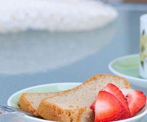 Vanilla Pound Cake Recipe [Paleo, Gluten-Free]
