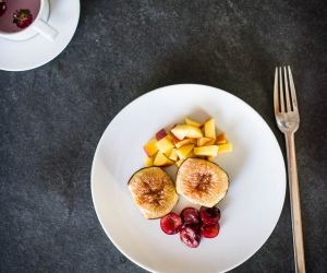 Roasted Figs and Cherries Dessert Recipe [Paleo, AIP]