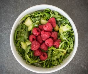 Raspberry Arugula Salad Recipe [Paleo, Keto, AIP]