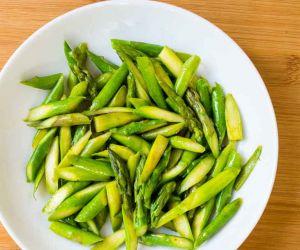 Keto Quick Asparagus Sauté Recipe