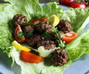 Keto Greek Meatballs Salad Recipe