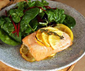 AIP Baked Lemon Salmon Recipe