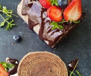 16-Layer Brazilian Chocolate Cake Roll (Bolo de Rolo de Chocolate)
