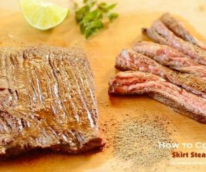 How to Cook Skirt Steak (4 Quick Steps) — with VIDEO