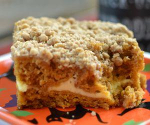 Pumpkin Cream Cheese Crumb Cake