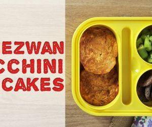 Schezwan Zucchini Pancakes