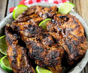 The Best Grilled Country Chili Lime Ribs