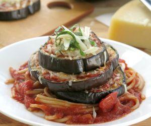 Eggplant Parmesan Stacks – Just 5 Ingredients!