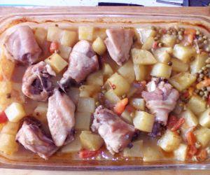 Chicken Casserole In Oven