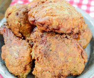 crispy pickle brined fried chicken recipe