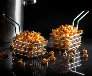 Spiced Stovetop Popcorn
