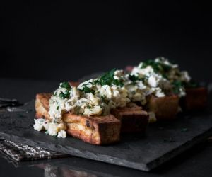 Easy French Toast Soldiers with Scrambled Eggs - Blogtastic Food