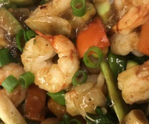 Shrimp and Vegetable Stirfry!