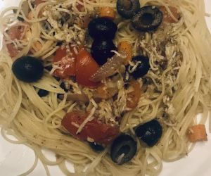 Greek Vegetarian Pasta