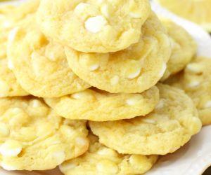 White Chocolate Chip Lemon Cookies