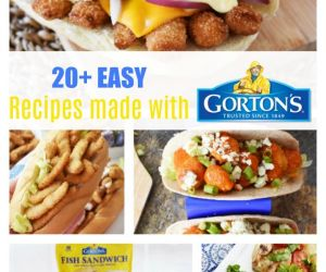 20 Easy Creative Recipes Using Gorton's Frozen Seafood