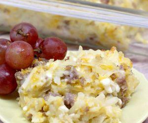 Cheesy Hashbrown Breakfast Casserole