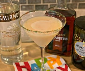 Birthday Cake Martini's