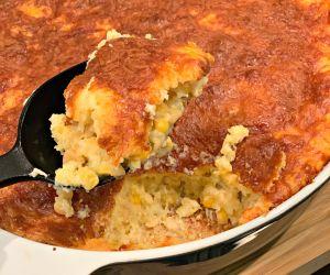 Simple Cornbread Casserole