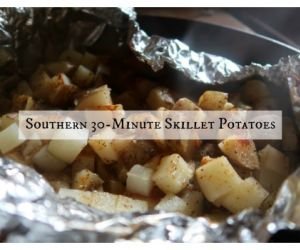 Southern 30-Minute Skillet Potatoes