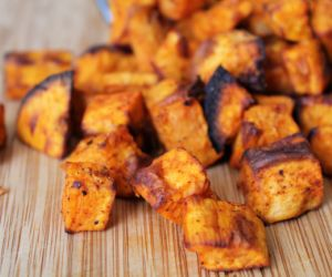 Air Fryer Sweet Potatoes