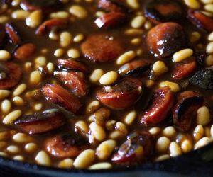 Smoked Sausage Baked Beans