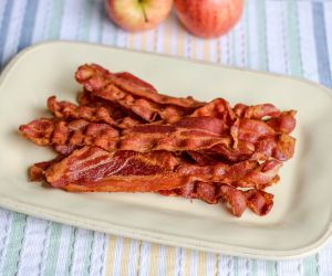 Extra Crispy Air Fryer Bacon