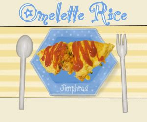 Mums Omelette Rice