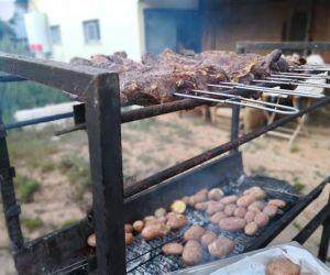 Argentine steak asado