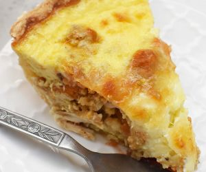 Thanksgiving Leftovers Quiche Recipe