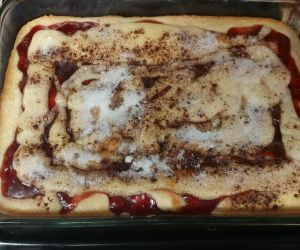 Cherry Coffee Cake OH LA LA! ⋆ My Mom Side Recipes