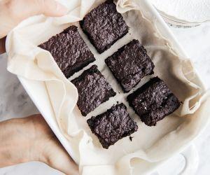 Healthy and vegan brownies
