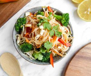 Easy and vegan Pad Thai recipe