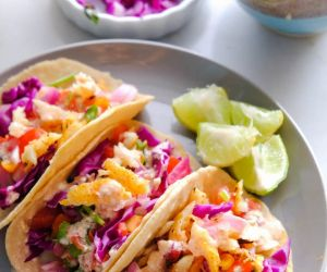 Best Grilled Fish Tacos With Taco Sauce