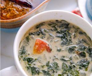 Murungai Keerai Thanni Saaru (Drumstick Leaves Soup)