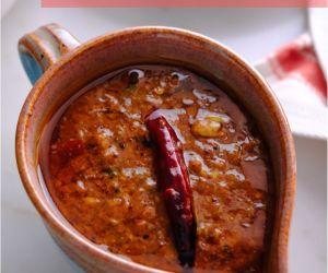 Garlic Curry Recipe (Poondu Kuzhambu)