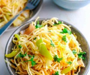 Veg Hakka Noodles Recipe
