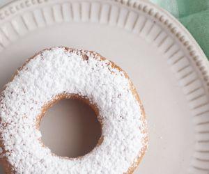 Powdered Sugar Biscuit Donuts